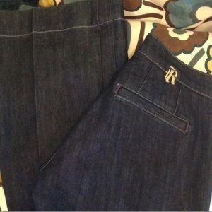 Rich & Skinny dark denim trouser jean size 28